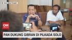 VIDEO: PAN Dukung Gibran di Pilkada Solo