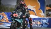 Fabio Quartararo di Babak Kualifikasi MotoGP Spanyol 2020.