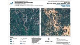 Foto Satelit Kerusakan Besar Usai Banjir Bandang Luwu Utara
