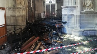 Relawan Didakwa Jadi Pelaku Kebakaran Katedral Nantes Prancis