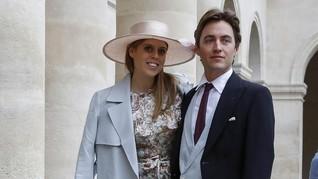 Buckingham Rilis Foto-foto Pernikahan Putri Beatrice