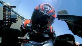 VIDEO: Momen Quartararo Rebut Pole MotoGP Spanyol 2020