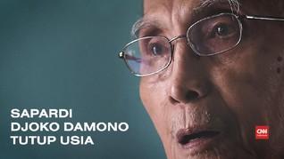 VIDEO: Sapardi Djoko Damono Tutup Usia