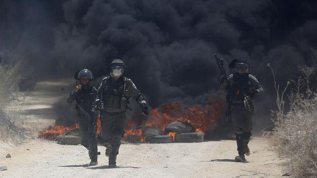 Tentara Israel menembakkan artileri ke arah Libanon usai empat roket yang mengarah ke kawasan tersebut.