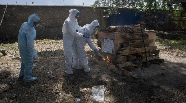 Kemenkes India melaporkan penambahan 1.007 kematian akibat infeksi virus corona dalam waktu 24 jam terakhir.