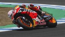 Reaksi Netizen Usai Marquez Finis Ke-3 di FP1 MotoGP Portugal