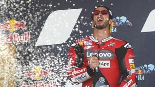 MotoGP: Dovizioso Tak Diterima di Suzuki
