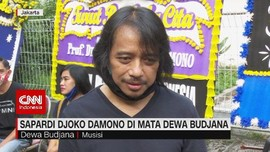 VIDEO: Sapardi Djoko Damono di Mata Dewa Budjana