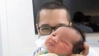 <p>Bayi yang berjenis kelamin laki-laki tersebut diberinama Shaquille Kaili Danuarta. (Foto: Instagram @cutratumeyriska)</p>