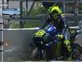 VIDEO: Momen Motor Rossi Mati Mendadak di MotoGP Spanyol