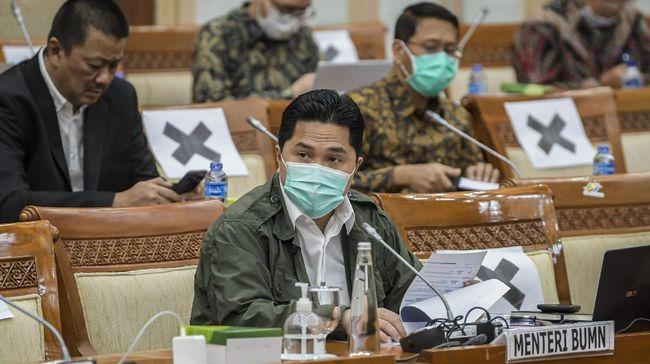 Menteri BUMN Erick Thohir mengungkapkan perombakan manajemen BUMN dilakukan untuk mendukung transformasi BUMN ke depan.
