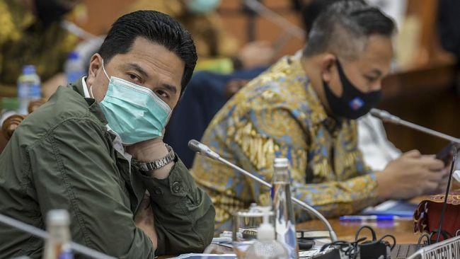 Menteri BUMN Erick Thohir mengaku deg-degan menyediakan 380 juta dosis vaksin covid-19 hingga 2021 karena jumlah tersebut 10 kali lipat kapasitas normal.