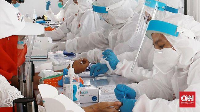 Dinkes DKI melakukan penelusuran Covid-19 di Petamburan, daerah yang sempat jadi lokasi perkumpulan orang saat pandemi, dan hasilnya sebagian besar non-reaktif.