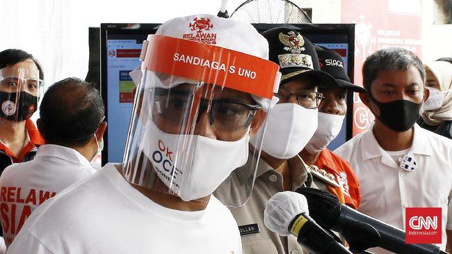 Mantan Wakil Gubernur DKI, Sandiaga Uno, bergabung dalam tim pemenangan pasangan Bakal Calon Wali Kota Muhammad Bobby Afif Nasution.