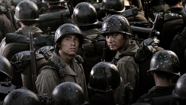 K Movievaganza Trans7 akan menayangkan Taegukgi, salah satu film yang dibintangi Won Bin, pada Selasa (21/7) pukul 21.30 WIB. Berikut sinopsis film Taegukgi.