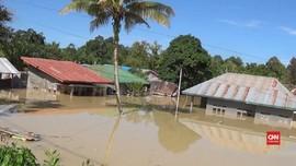 VIDEO: Ratusan Rumah di Masamba Kembali Terendam Banjir