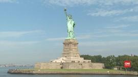 VIDEO: Area Patung Liberty Kembali Buka untuk Umum