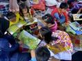 FOTO: Mengobati Trauma Anak-anak Korban Banjir Bandang Luwu