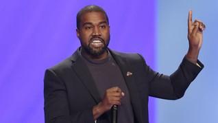 Survei: Kanye West Cuma Didukung 2 Persen Pemilih Kulit Hitam