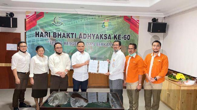 Pelindo II cabang Tanjung Priok kembali memanfaatkan aset berupa tanah seluas 6.447,98 m2 di Pelabuhan Tanjung Priok, Rabu (22/7).