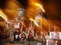FOTO: Ricuh Demo Tuntut PM Israel Mundur