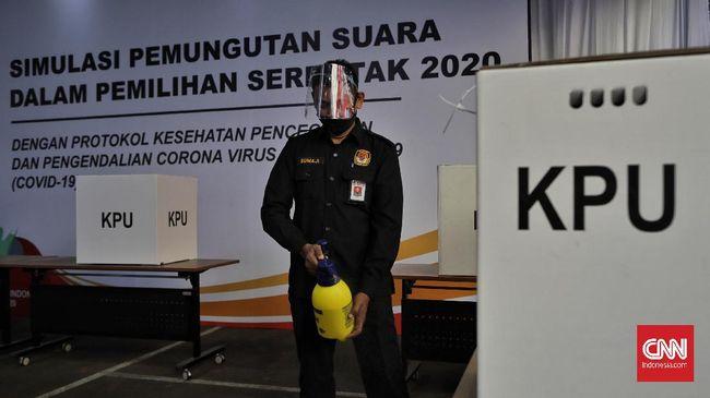 KPU membuka kembali pendaftaran Pilkada 2020 di 28 daerah pada hari ini lantaran baru terdapat satu bakal pasangan calon yang mendaftar.