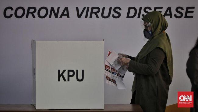 KPU menyatakan anggaran Pilkada Serentak untuk 206 daerah sudah cair 100 persen.