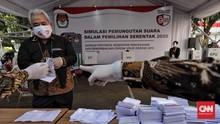 KPU Makassar Tetapkan 4 Paslon, Ingatkan Protokol Kesehatan