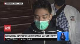 VIDEO: Boy William Jadi Saksi Kasus Pembobolan Kartu Kredit