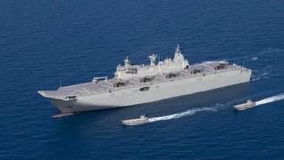Fakta Kapal Australia Gabung AS-Jepang di LCS Terkait China