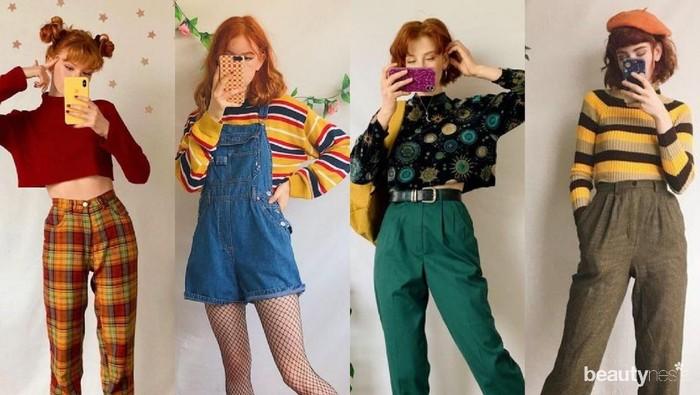 Gaya Vintage Lagi Hits Nih! Kamu Bisa Mencobanya dengan Memanfaatkan Outfit yang Sudah Ada, Lho!