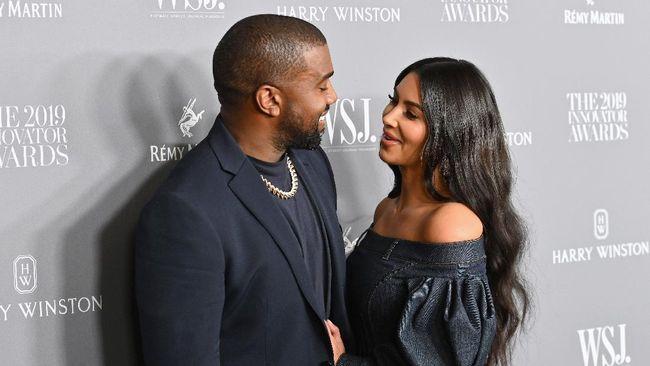Kim Kardashian Buka Suara Soal Kondisi Bipolar Kanye West