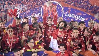 Hormati Salah dan Mane, Liverpool Pesta Juara Tanpa Alkohol