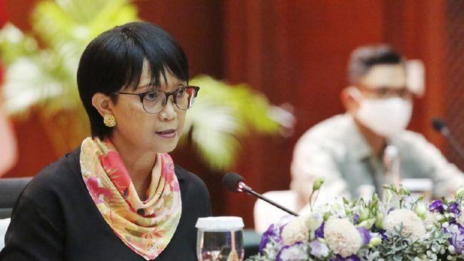 Menlu RI Retno Marsudi meminta Menlu Myanmar yang ditunjuk oleh junta militer mendengarkan aspirasi rakyat dan membuka akses kemanusiaan tapol.