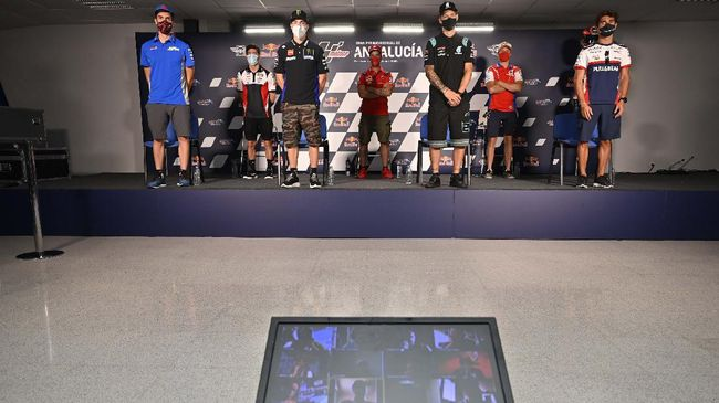 Keputusan Marc Marquez ngotot tampil di MotoGP Andalusia 2020 mendapat respons lima rival The Baby Alien.