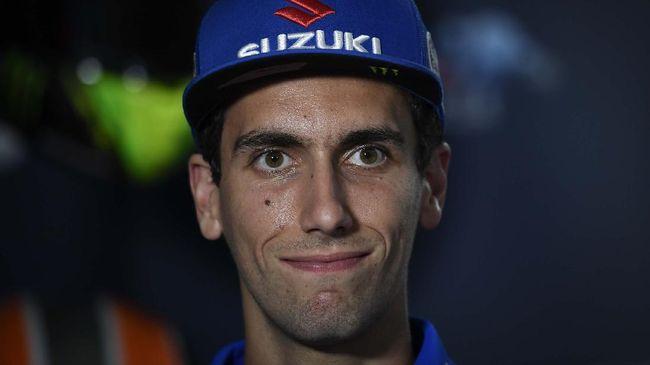 Pembalap Suzuki Alex Rins kesal comeback Marc Marquez di MotoGP Andalusia 2020 terus dibahas media.
