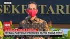 VIDEO: Istana Pastikan Presiden Rutin Swab Test