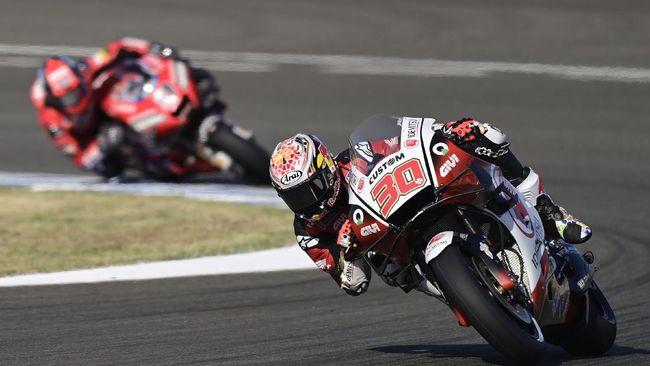 Takaaki Nakagami menambah drama MotoGP Andalusia 2020 setelah menjadi yang tercepat pada latihan bebas kedua (FP2) di Sirkuit Jerez, Jumat (24/7).