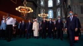 VIDEO: Erdogan Akan Salat Jumat di Hagia Sophia