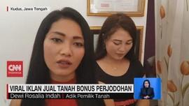 VIDEO: Viral Iklan Jual Tanah Dapat Bonus Istri