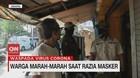 VIDEO: Warga Marah-marah Saat Terjaring Razia Masker