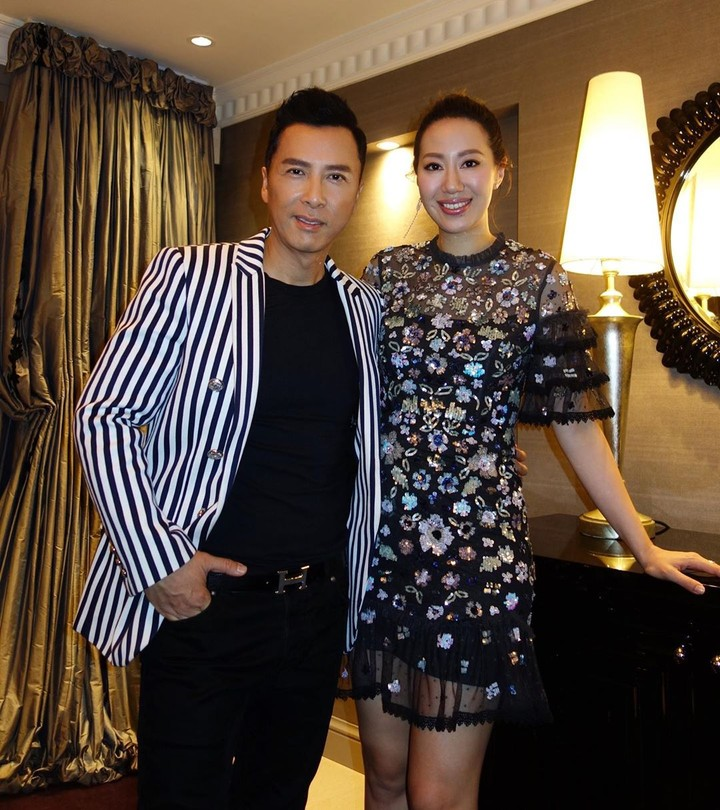 Donnie Yen dan istri