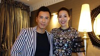 <p>Bunda tentu sudah mengenal aktor Mandarin satu ini, Donnie Yen dalam film <em>Ip Man</em>. Donnie Yen ternyata memiliki istri yang merupakan mantan ratu kecantikan Cissy Wang. Keduanya saat ini telah dikaruniai dua orang anak. (Foto: Instagram @sweetcil)</p>