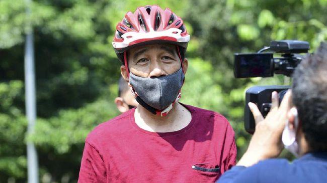 Permintaan ini juga ditujukan kepada jajaran menteri Jokowi untuk mengampanyekan penggunaan masker selama dua pekan ke depan.