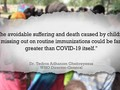 VIDEO: Covid-19 Ancam Eksistensi Vaksin Imunisasi