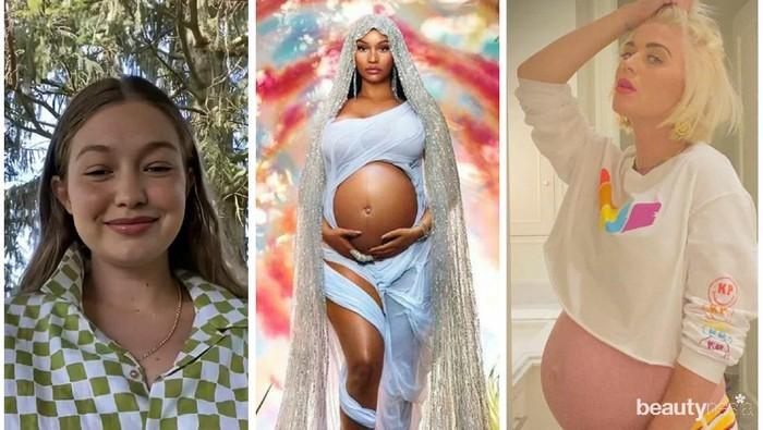 Katy Perry, Nicki Minaj, dan Gigi Hadid Pamer Baby Bump, Siapa Paling Menawan?