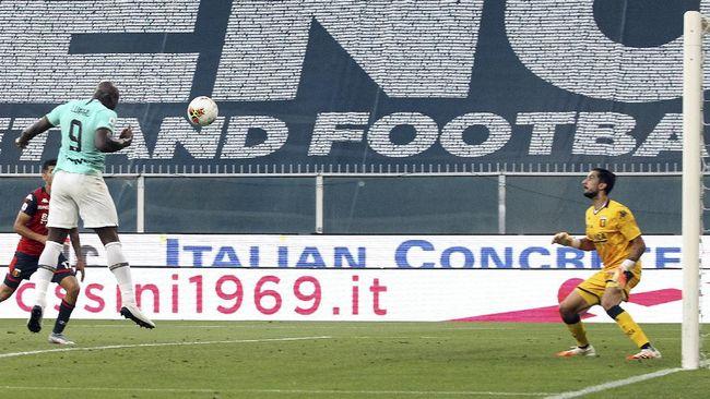 Hasil Liga Italia: Inter Gebuk Genoa 3-0