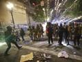 Polisi Portland Tangkap 50 Orang Usai Bentrokan Demonstrasi
