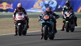 Perayaan 'Mbappe' di MotoGP Andalusia 2020