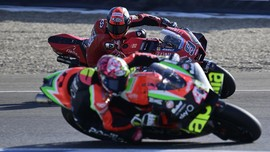 Petrucci Ribut dengan Aleix Espargaro di MotoGP Austria